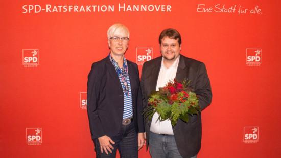 Christine Kastning und Lars Kelich