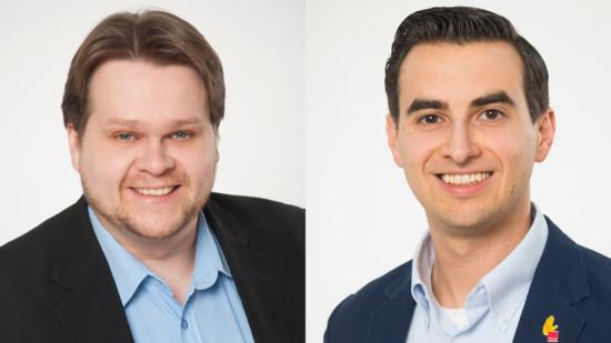 Lars Klelich und Philipp Kreisz