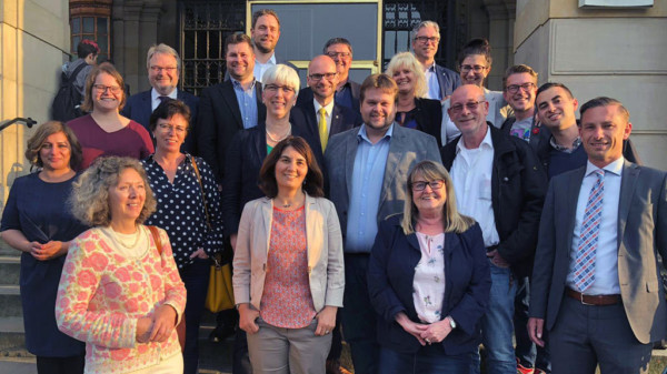 Die Mitglieder der SPD-Ratsfraktion Hannover