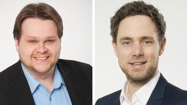 Lars Kelich und Christopher Finck