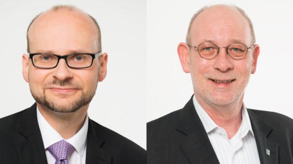 Jens Menge und Bruno Gill