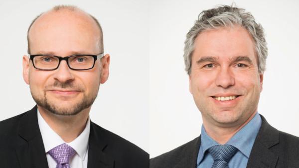 Jens Menge und Robert Nicholls
