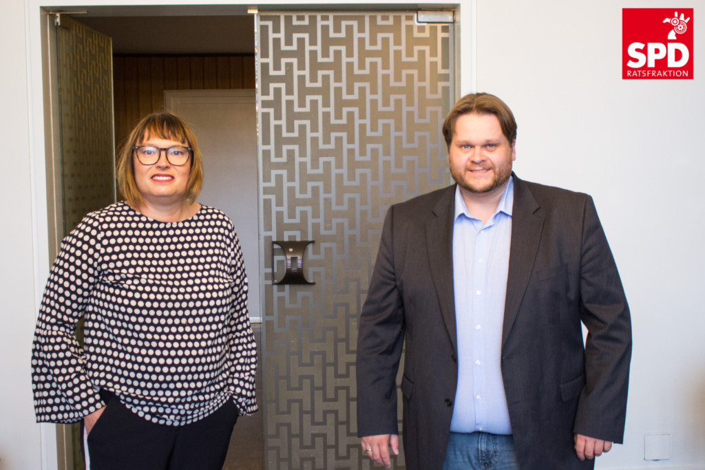 Lars Kelich und Sylvia Bruns