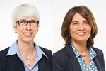 Die Vorsitzende der SPD-Ratsfraktion Christine Kastning und die kulturpolitische Sprecherin Belgin Zaman