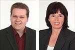 Lars Kelich und Peggy Keller