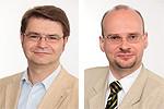 Ewald Nagel und Jens Menge