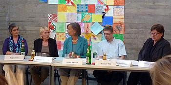 v.l.n.r.: Katja Gade, Barbara von Alten, Ulrike Strauch, Michael Klie, Marlis Drevermann