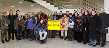 SPD-Ratsfraktion besucht Feldjägerschule