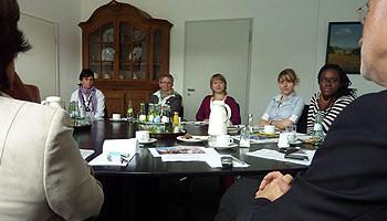 Migrations-AG zu Besuch bei den Städtebotschaftern der Stadt Osnabrück
