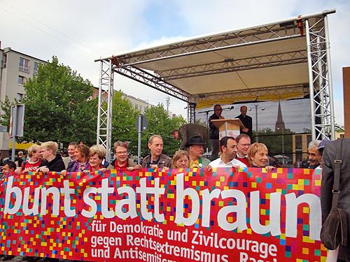 SPD-Ratsfraktion Hannover bei Anti-Nazi-Demo